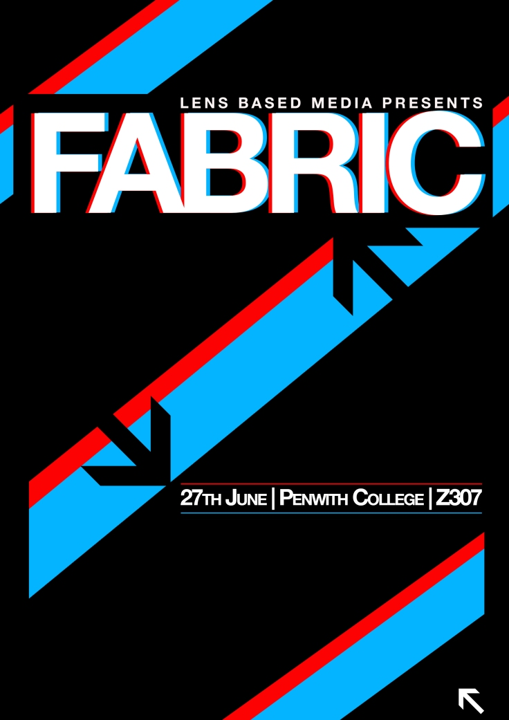 fabric poster